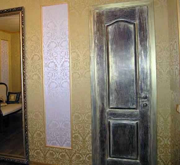 Как декорировать двери межкомнатные
