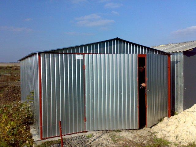 Строю гараж из блоков