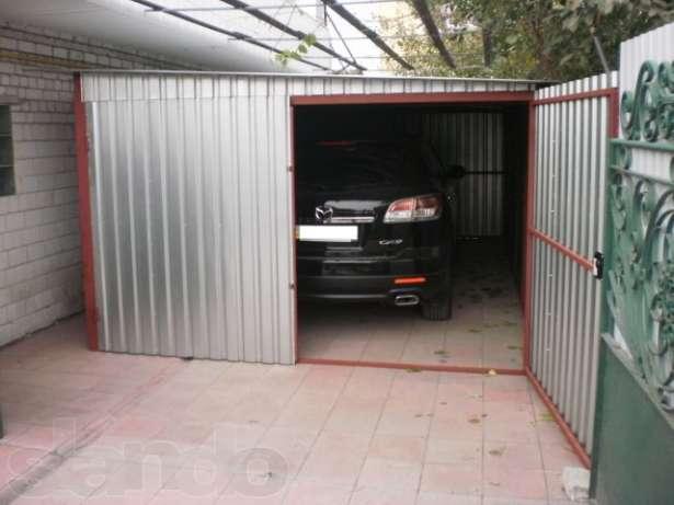 Фото гаражей из профильной трубы