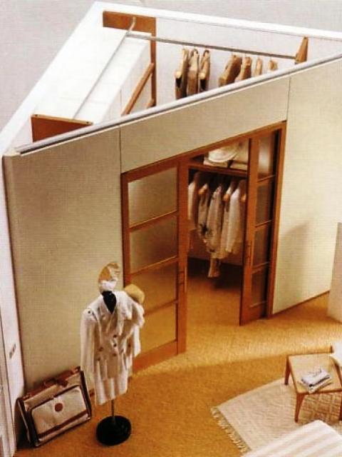 Как сделать гардеробную в спальне своими руками фото