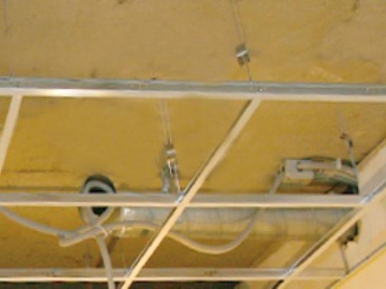 Потолок армстронг установка
