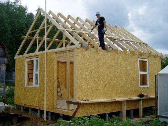 Как построить дом из бруса своими руками фото пошаговая инструкция