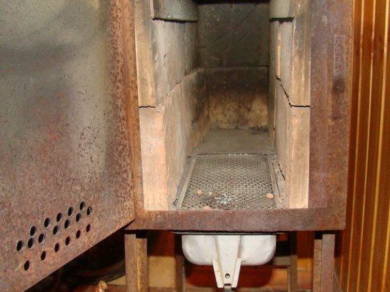 Печь в гараж на дровах своими руками из газового баллона