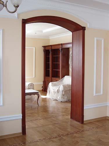 дверной проём на кухню без двери фото