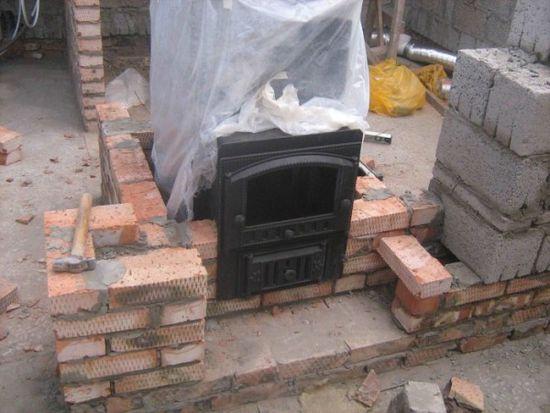 Строим баню из блоков своими руками