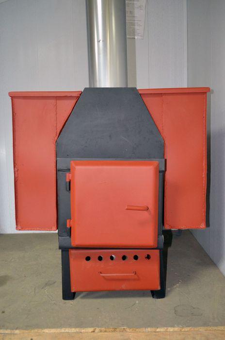 Печь в гараж железная