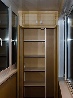 Удобный и красивый шкаф на балкон 40 48