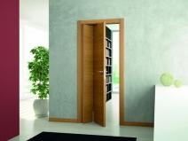 Как установить дверь книжку