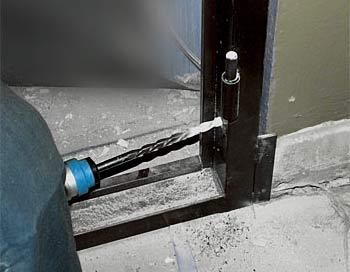 Металлическая дверь установка своими руками