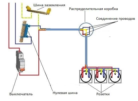 Схема подключения лампочек последовательно фото 536