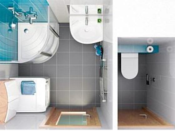 Дизайн ванной комнаты с душевой кабиной 4 кв.м фото