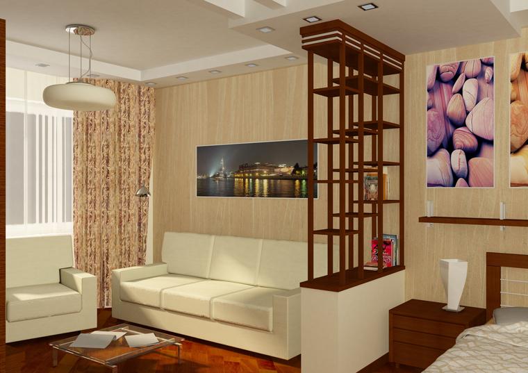 Зонирование комнат в дизайне интерьера