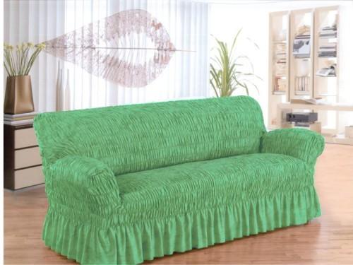 Чехол на диван на резинках своими руками