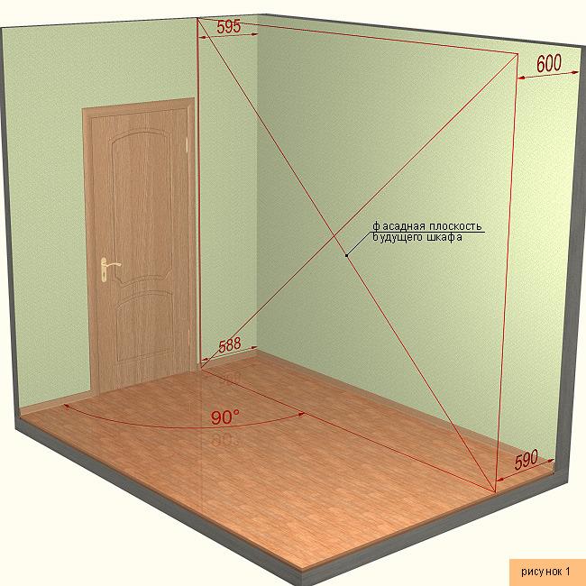 Пошаговая инструкция как сделать встроенный шкаф 315