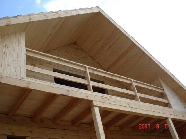 Как сделать балкон на мансардном этаже - Совет подруги