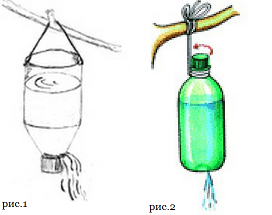 Рукомойник на бутылку своими руками 220