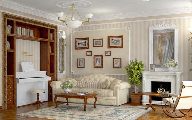 Подобрать обои под цвет мебели